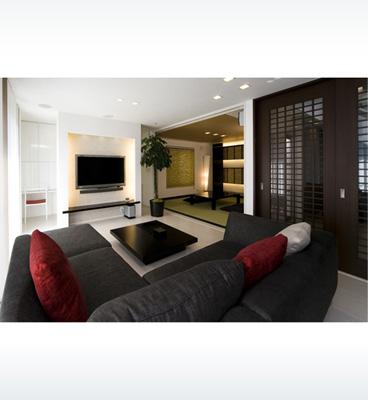 ヘーベルハウスの実例ホテルのようなくつろぎ空間と使い勝手を両立した住まい