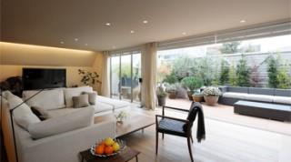 ヘーベルハウスの実例ベランダと一体の3階LDKなど3世帯の快適空間を叶えた住まい