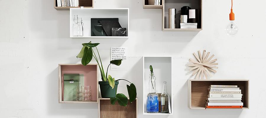 Wall Storage −1− お気に入りを並べて 壁面をディスプレイ