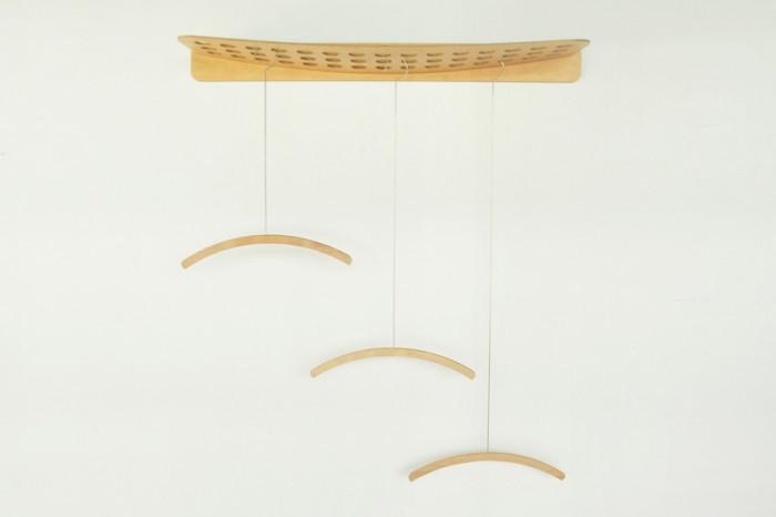 Holed Hanger Rack W1050 H270 D100mm ¥25,000 Long Neck Hanger ¥2,800(ショート) ¥3,800(ミディアム) ¥4,000(ロング) 以上フレイラウム/バイトリコ