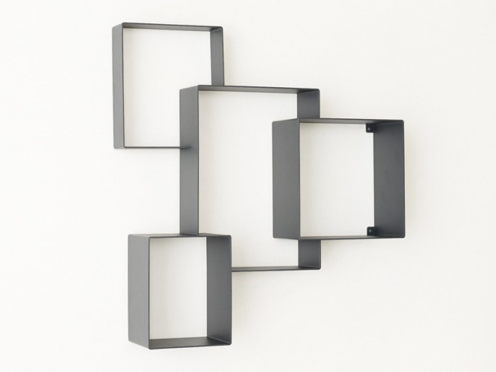 Cloud Cabinet (ダークグレー) W490 H520 D100mm ¥65,000 フレデリック・ロイエ/バイトリコ
