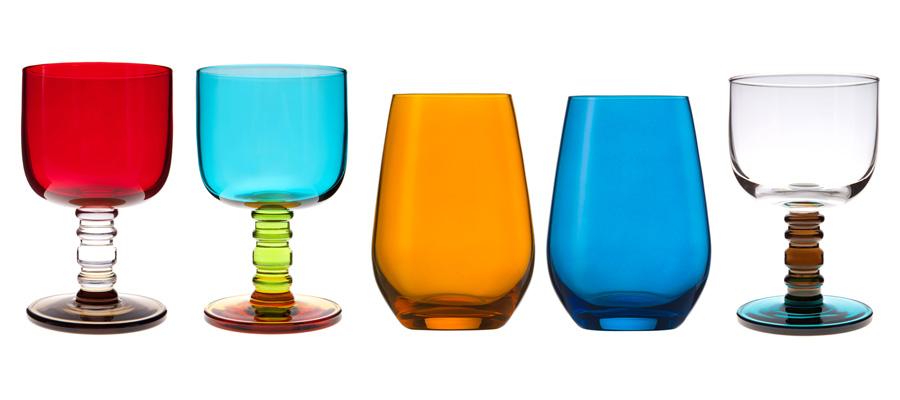 glass −2−ティータイムが楽しくなる カラー&デザイングラス