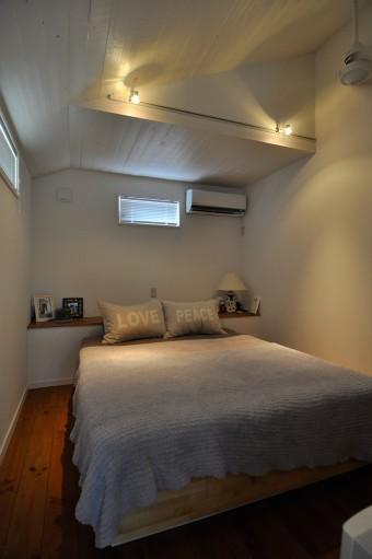 「寝室の窓は小さくしてもらったので、朝までぐっすり眠れるのがよかったです」