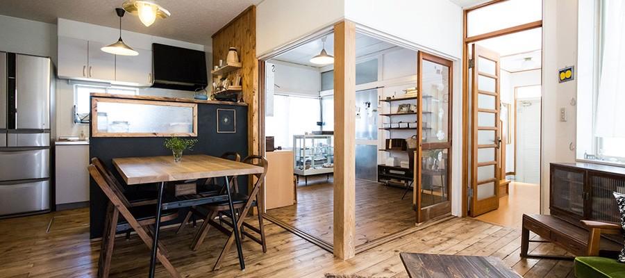 古道具ありきのカフェ風空間造り上げることが悦び創作を楽しむ家