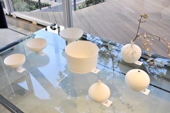 黒田泰三氏の花器・器は用の美を内包するたたずまい。