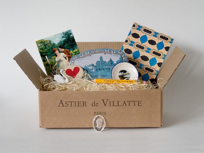 ロマンティック・ボックス ¥24,000 アスティエ・ド・ヴィラット/H.P.DECO