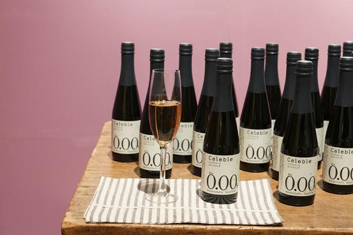 ノンアルコールスパークリングワイン 355ml ¥600 セレブレ/私の休日カムパニー