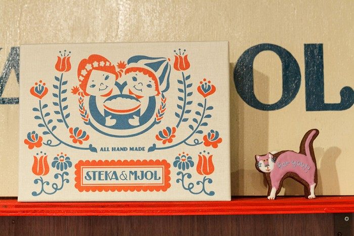 アイシングクッキー ネコ ¥850 ステカ&モジョル