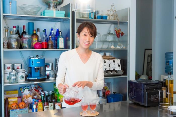 小原麻美さん。ベトナム・タイ料理教室「Barbados Cherry」を営む。http://cherrycherry88.jimdo.com/profile-1/