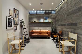 Cleanse Salonは東海岸のリゾート地・モントークをイメージしたリラックスできる空間。