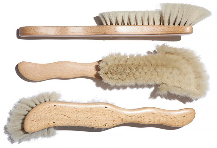 Furniture brush goat hair W25〜50 H290mm ¥5,500 USE/GENERAL VIEW