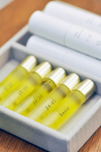 ukaのネイルオイル。塗る時間帯ごとにわけられたオイルシリーズは働く女性の強い味方。