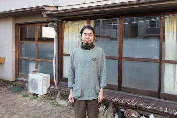 海山俊亮さん。デザインスタジオ・デザインレーベル「Micro Works」を運営。http://www.microworks.jp