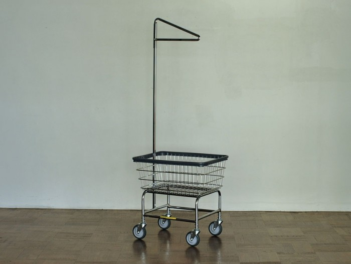 LAUNDRY CART SINGLE POLE W675 D550 H1690mm (Basket)W675 D550 H280mm ¥28,000 P.F.S. PARTS CENTER