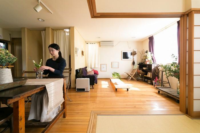 畳の部屋があったことも、この家を購入した決め手のひとつ。