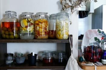 レモン酒、レモンシロップ、塩レモンなどをつける。料理にも活用。