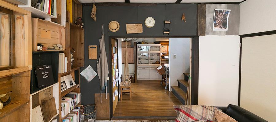DIYで家中を改装  独創性を求めて 変化をし続ける家