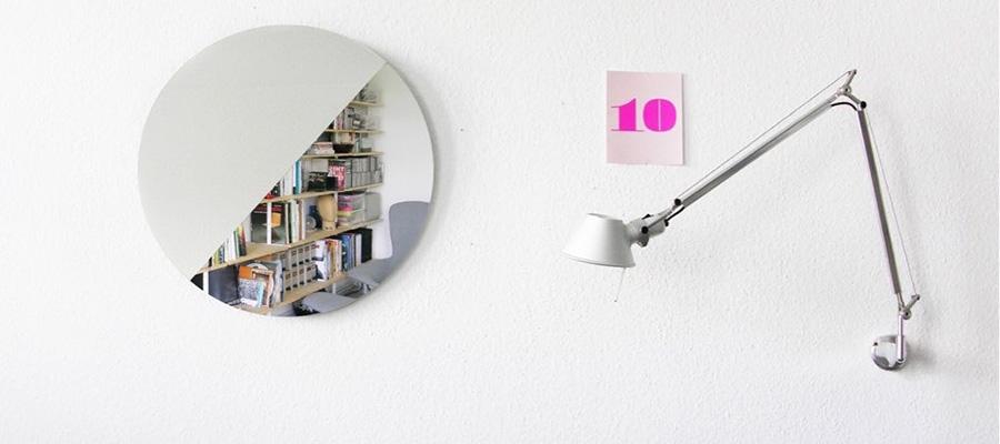 Mirror −2−壁面を際立たせる シンプルなウォールミラー