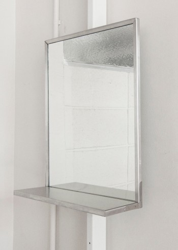 《STAINLESS STEEL FRAME MIRROR》