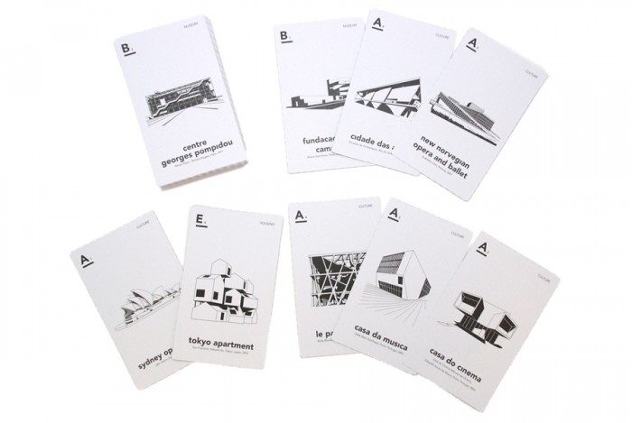 《iconic architecture card game》