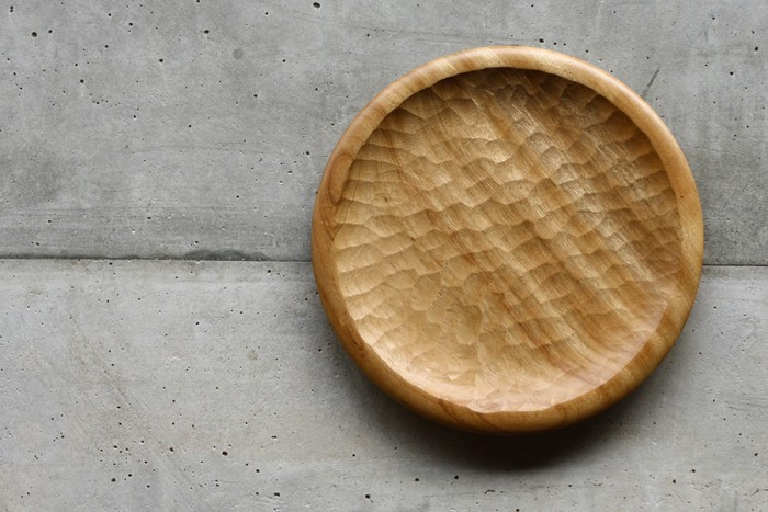 Wooden Plate φ240 H20mm ¥6,500 アキヒロジン/niguramu