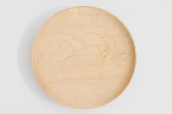 メープル材の美しい木目。