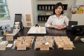 オーナーの田中園子さん。店名の「solco」は田中さんの愛称にちなんでつけられたそう。