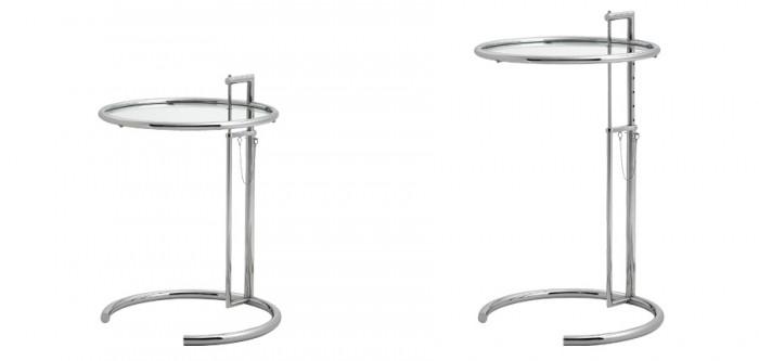 テーブルの高さは、63cmから104cmまで自由に調節できる。
