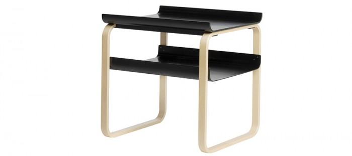 TABLE 915(ブラック) W590 D490 H590mm 各¥136,500 アルテック