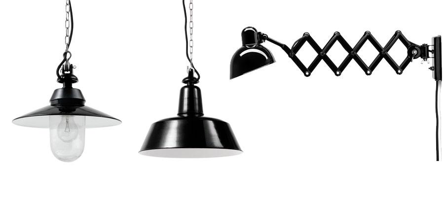 インダストリアルデザイン −1−機能美を備えたインダストリアルな照明