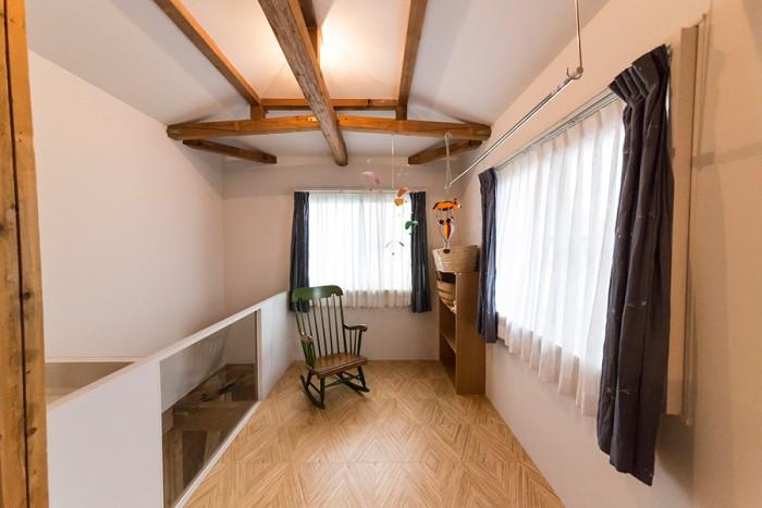 いずれは子供部屋にしたいという空間も、現在は仕切りはない。