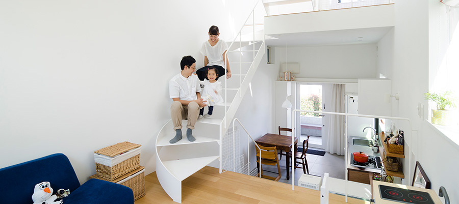 小さな家で味わう幸せ家づくりのテーマはシンプルでかわいい健康な家