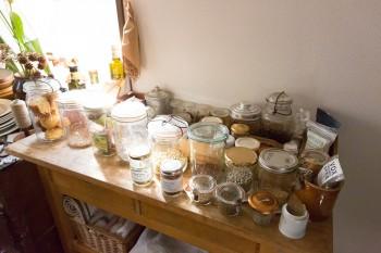 裕子さんが料理に使う材料も、ディスプレイのように美しい。