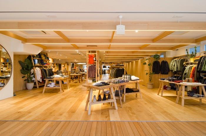 開放感抜群で気持ちのいい空間。店舗面積約290m<sup><figcaption id=