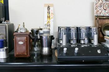 真空管アンプは、お客様のジャズギタリストからの預かりもの。