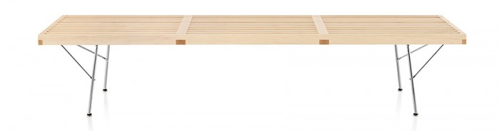 Nelson Platform Bench Metal BaseW1830 D470 H356mm¥195,000〜W1525 D470 H356mm¥178,000〜 W1220 D470 H356mm¥163,000〜 Herman Miller(Herman Miller Japan)