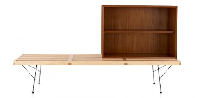Nelson Basic Cabinet Series Medium Bookcase W865 D305 H610mm ¥113,000 Herman Miller(Herman Miller Japan)