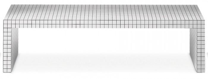 Quaderna Bench W1500 D420 H390mm ¥498,000 zanotta(yamagiwa tokyo)