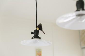 「鳥をこんな所に置くなんて僕にはない観点」と佳孝さんは笑う。