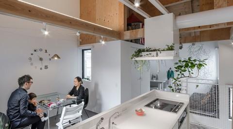 建築家と協働で生まれた快適空間特徴的な空間にこだわりを詰め込んで