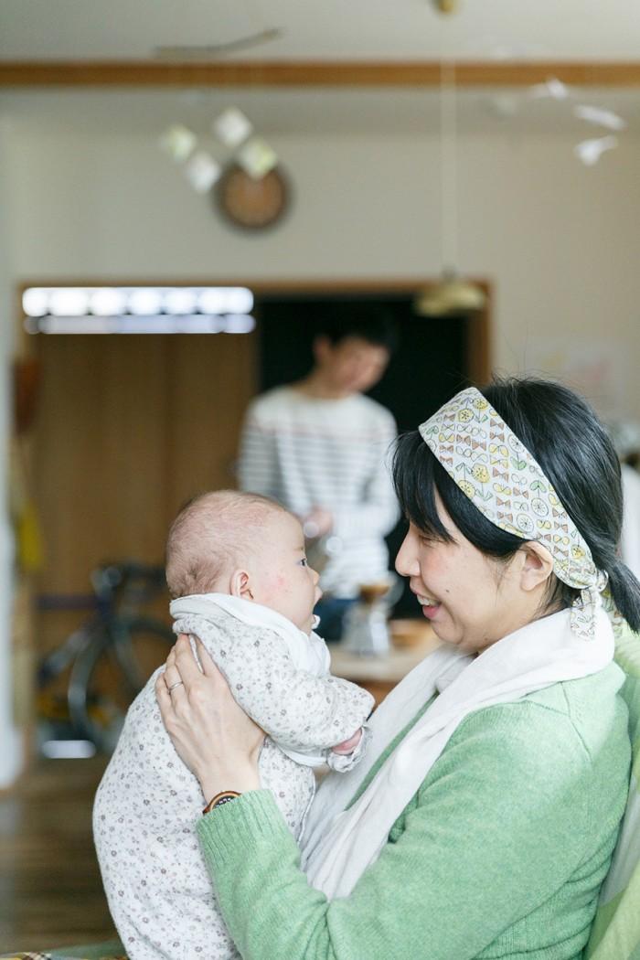 三女の風生子ちゃんは昨年12月から家族の仲間入り。