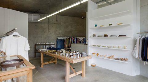 日本の手仕事-2-衣食住のクラフトストア駒沢「S-STORE」
