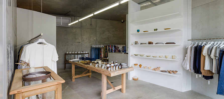 日本の手仕事-2-  衣食住のクラフトストア 駒沢「S-STORE」