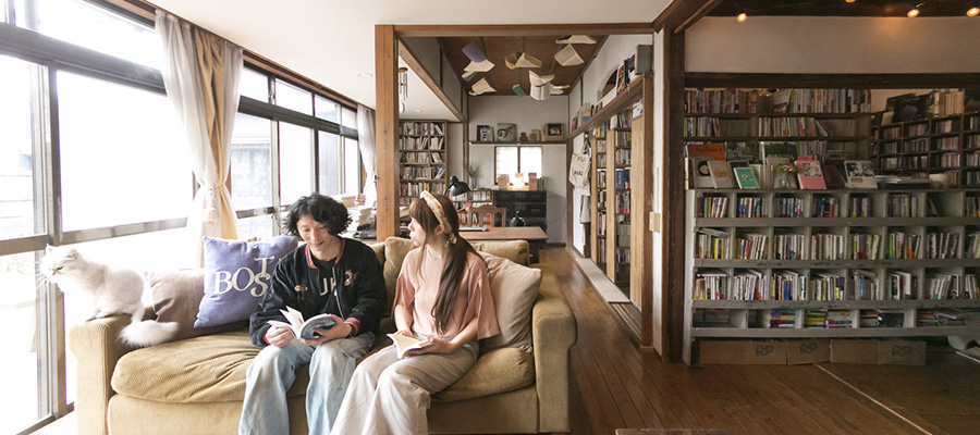 本との暮らしを楽しむ  本で表現する 物語のある空間