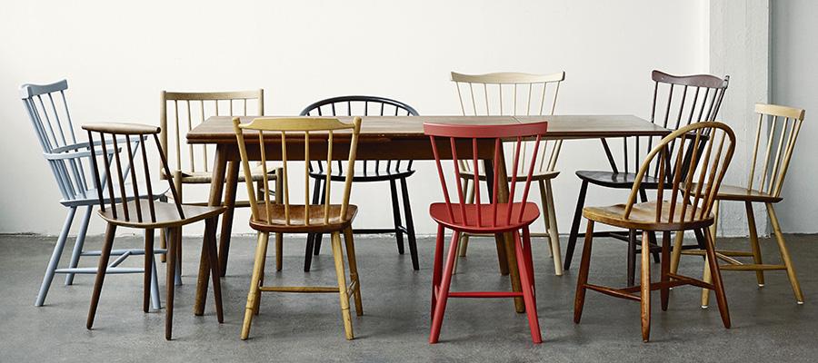 Windsor Chair −1− 古くから愛されてきた 伝統的なウィンザーチェア