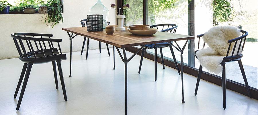 Windsor Chair −2− 現代のスタイルに合わせた モダンウィンザースタイル