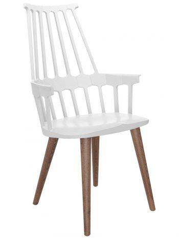 Comback Wood Leg(ホワイト+オーク) W580 D500 H1000 SH485mm¥81,300Kartell(ヤマギワオンラインストア)