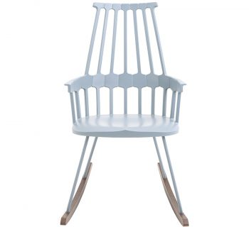 Comback Rocking Chair(グレイブルー)W580 D720 H980 SH460mm¥86,800Kartell(TOYO KITCHEN STYLE.)