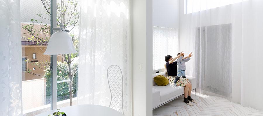 門型を連ねて生まれた家ミニマルながら豊かなニュアンスを秘めた空間