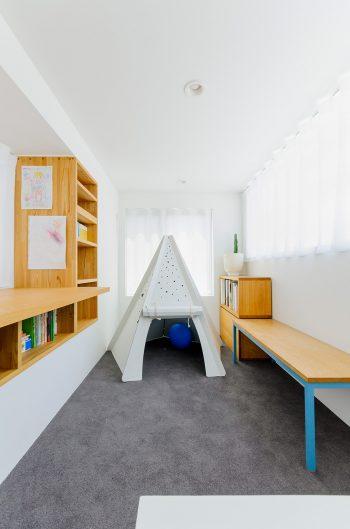 2階は将来子供部屋になる。